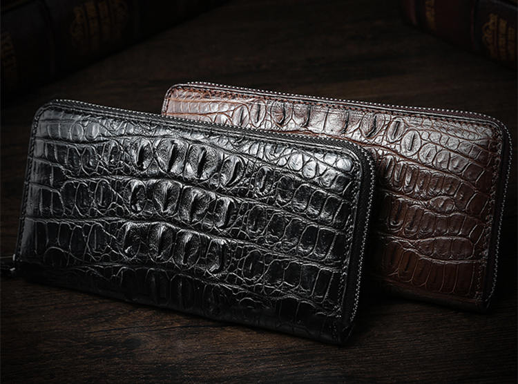 Crocodile Leather Wallet is the Best Birthday Gift for Him