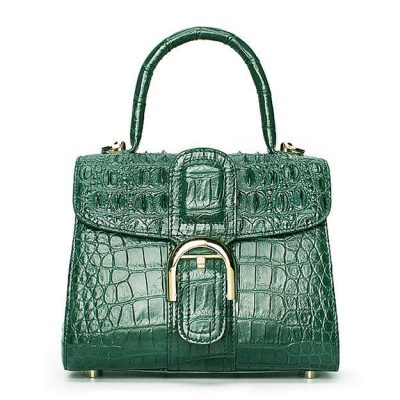 Elegant High-end Crocodile Handbag Purse Crossbody Bag