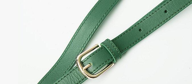 Elegant High-end Crocodile Handbag Purse Crossbody Bag-Strap