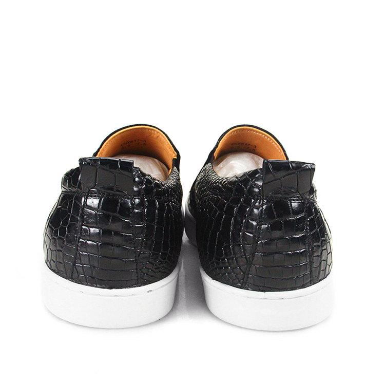 Fashion Genuine Alligator Leather Shoes-1