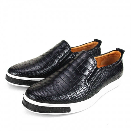 Fashion Genuine Alligator Leather Shoes-2