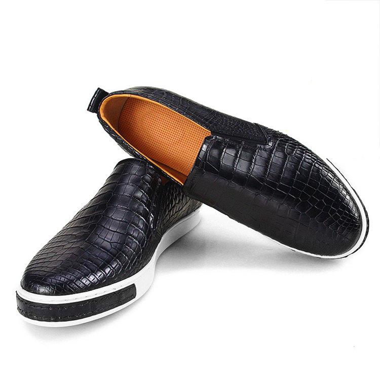 Fashion Genuine Alligator Leather Shoes-3