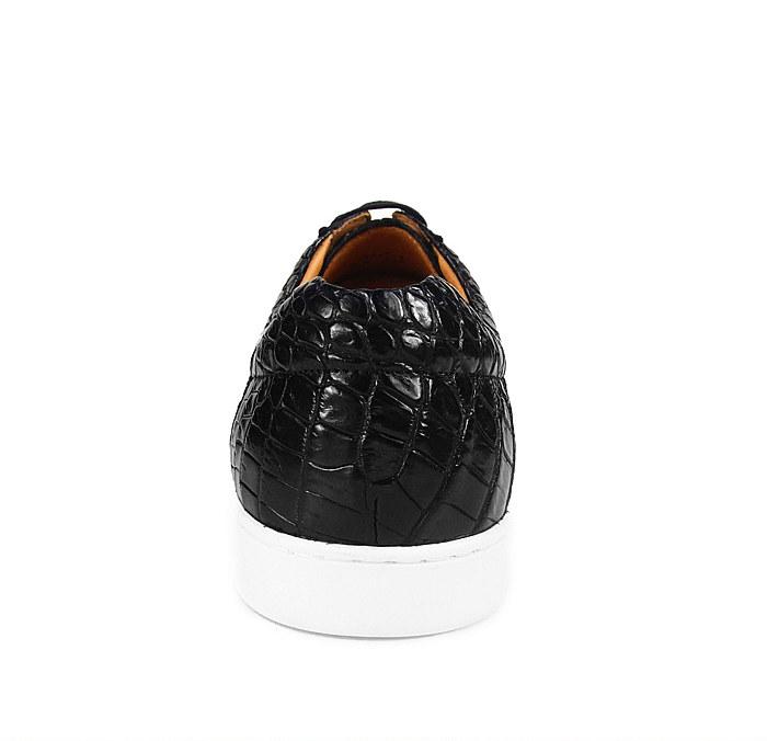 Fashion Genuine Crocodile Leather Shoes-1
