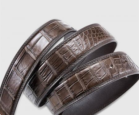 Genuine Alligator Belt - Classic & Fashion Design-3