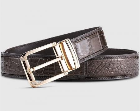 Genuine Alligator Belt - Classic & Fashion Design-Lay
