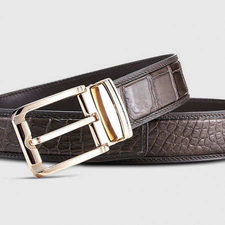 Genuine Alligator Belt - Classic & Fashion Design-Lay