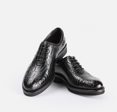 Genuine Alligator Leather Dress Formal Shoes-1