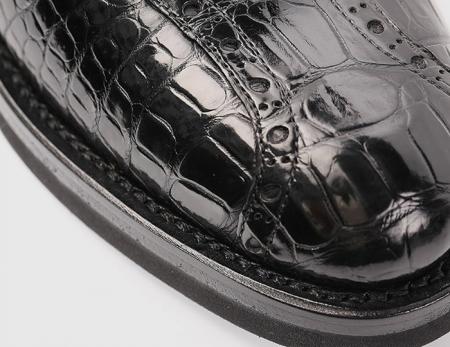 Genuine Alligator Leather Dress Formal Shoes-Top Shape