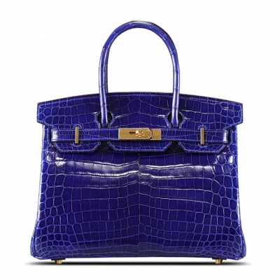 Genuine Alligator Leather Handbag