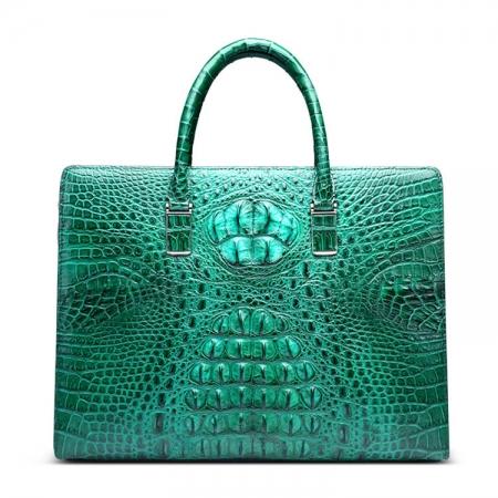 Genuine Crocodile Briefcase, Crocodile Business Bag for Men-New Arrival