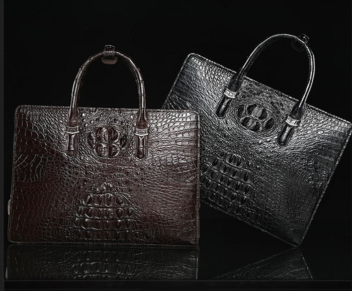 Genuine Crocodile Leather Bag from BRUCEGAO
