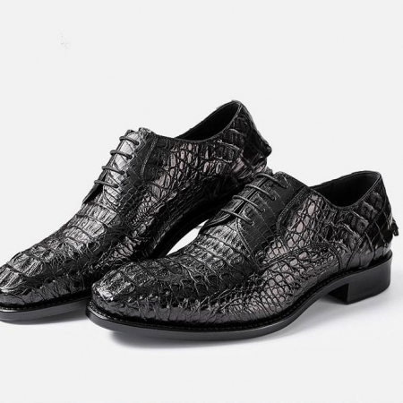 Genuine Crocodile Leather Dress Shoes-1
