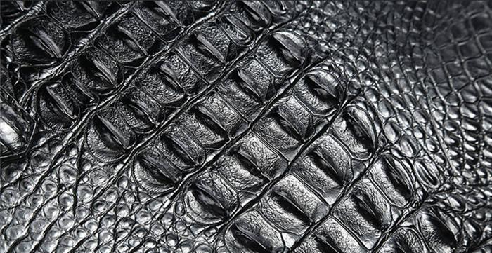 Genuine Crocodile Skin
