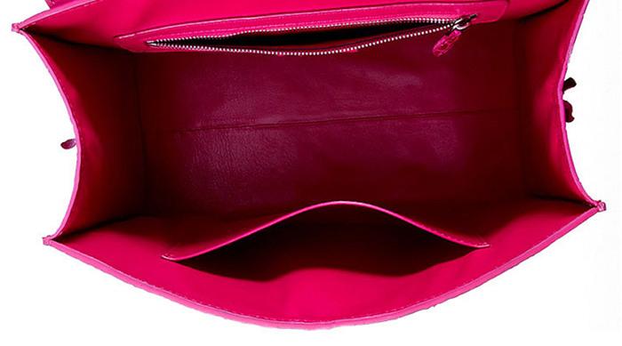 Genuine Crocodile Leather Handbag, Shoulder Bag, Crossbody Bag for Women-Inside