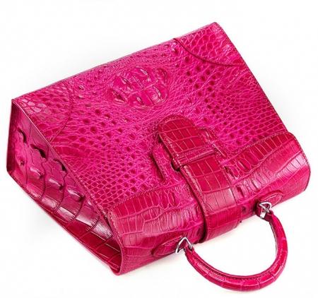 Genuine Crocodile Leather Handbag, Shoulder Bag, Crossbody Bag for Women-Top
