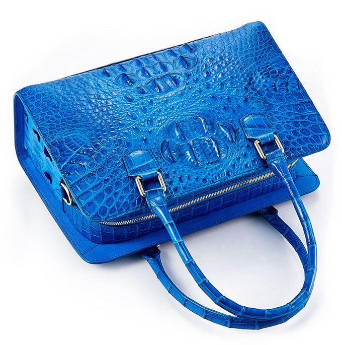 Ladies Crocodile Shoulder Bag, Crocodile Handbag-1