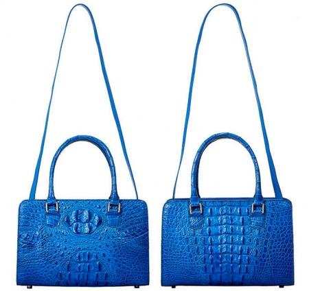 Ladies Crocodile Shoulder Bag, Crocodile Handbag-Strap