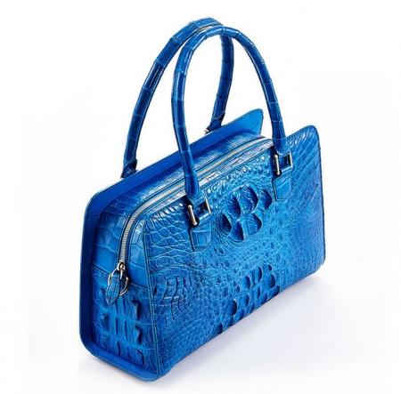 Ladies Crocodile Shoulder Bag, Crocodile Handbag-Top