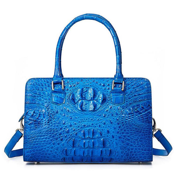 Ladies Crocodile Shoulder Bag, Crocodile Handbag