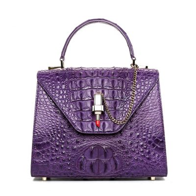 Ladies Evening Crocodile Handbag