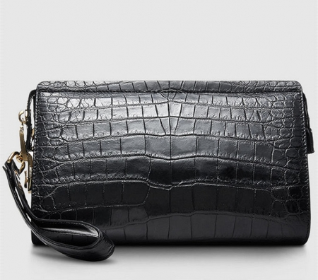 Large Genuine Alligator Wallet-Back
