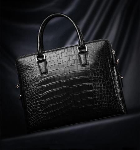 Luxury Alligator Laptop Bag for Men