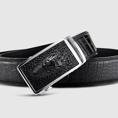 Luxury Automatic Buckle Alligator Belt-Buckle