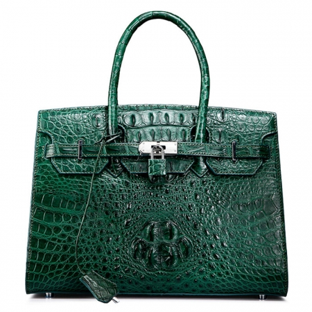 Luxury Genuine Crocodile Handbag for Women