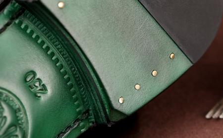 Men's Genuine Alligator Leather Oxford Business Dress Shoes-Heel