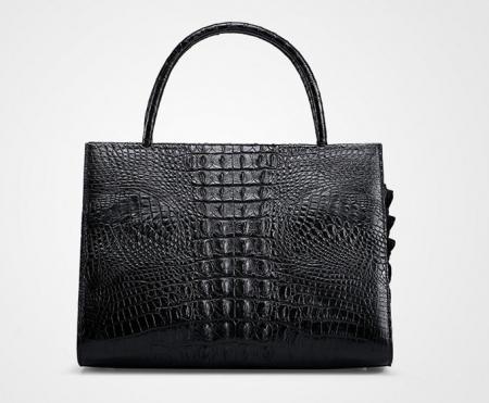 Professional Genuine Crocodile Handbag-Back