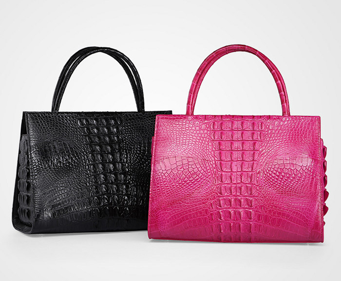 Professional Genuine Crocodile Handbag-Exhibition