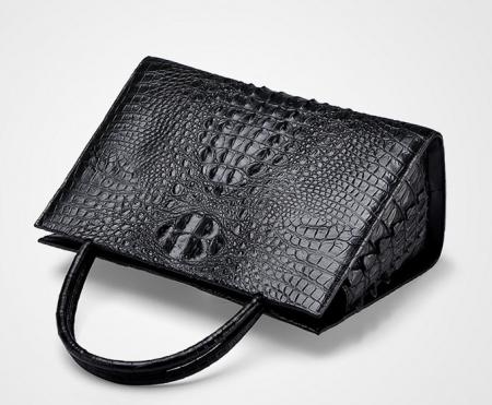 Professional Genuine Crocodile Handbag-Top