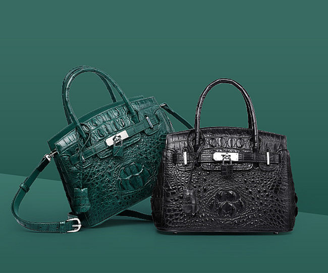 Really crocodile handbags