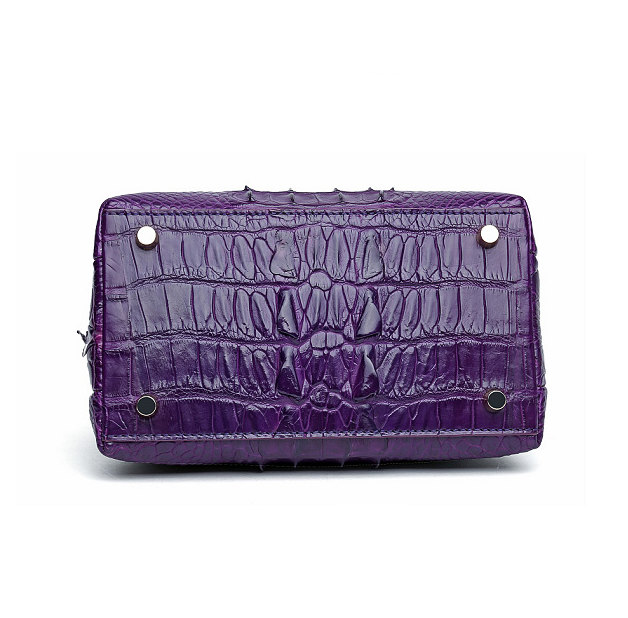 Stylish Alligator Evening Purse-Bottom