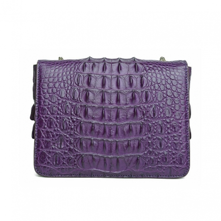 Stylish Alligator Purse, Shoulder Bag for Women-Back