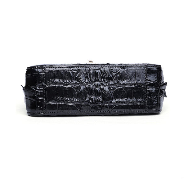 Stylish Alligator Purse, Small Alligator Crossbody Bag-Bottom