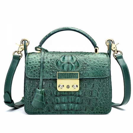 Timeless Crocodile Leather Handbag