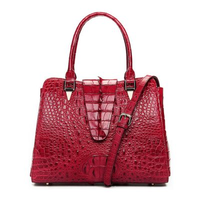 Women Fashion Crocodile Leather Handbag