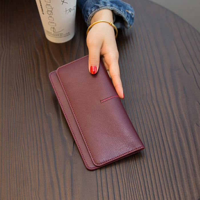 BRUCEGAO Leather Wallet