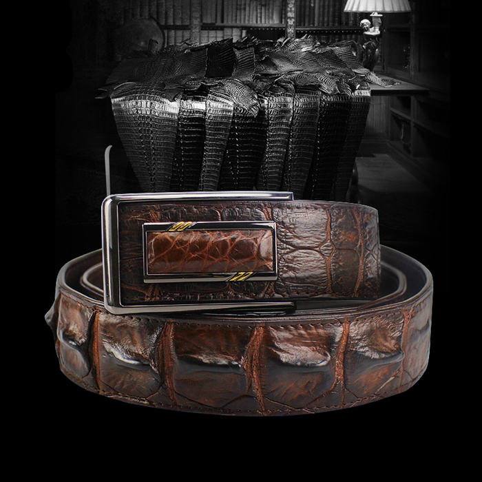 BRUCEGAO's Crocodile Belt Art.No 1001