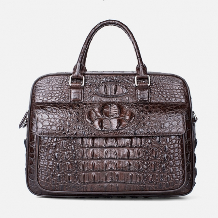 Classic Crocodile Briefcase, Crocodile Shoulder Bag