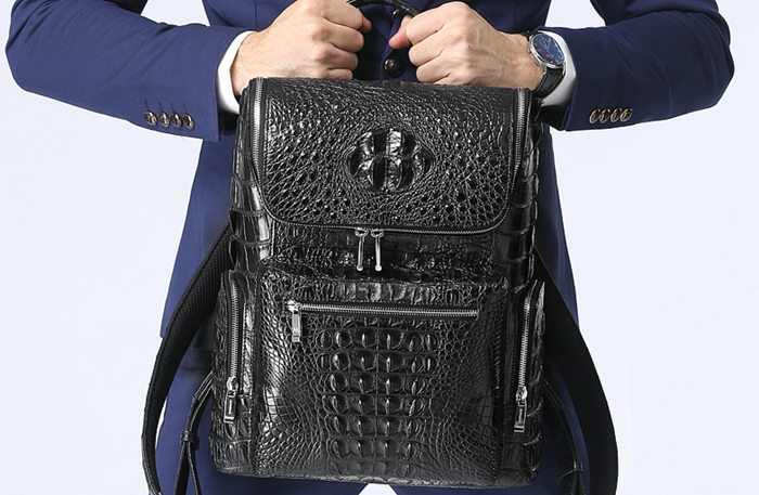 Crocodile Backpack for Travel