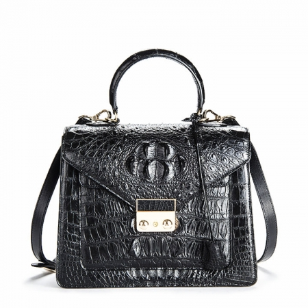 Crocodile Evening Handbag and Clutch Party Wedding Purse for Women