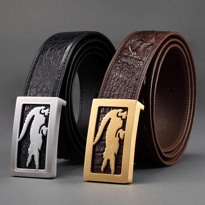 Crocodile Leather Belt-ART.NO 0001 Exhibition