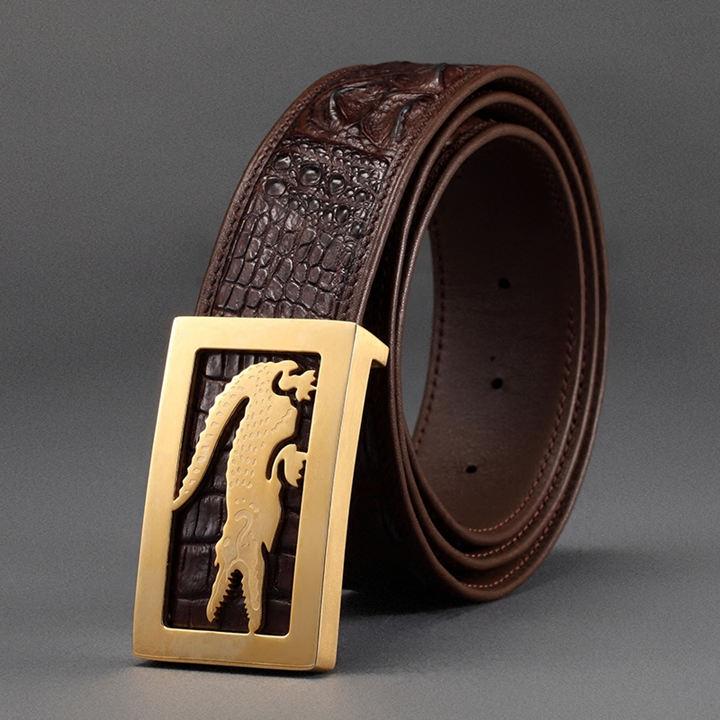 Crocodile Leather Belt-ART.NO 0001