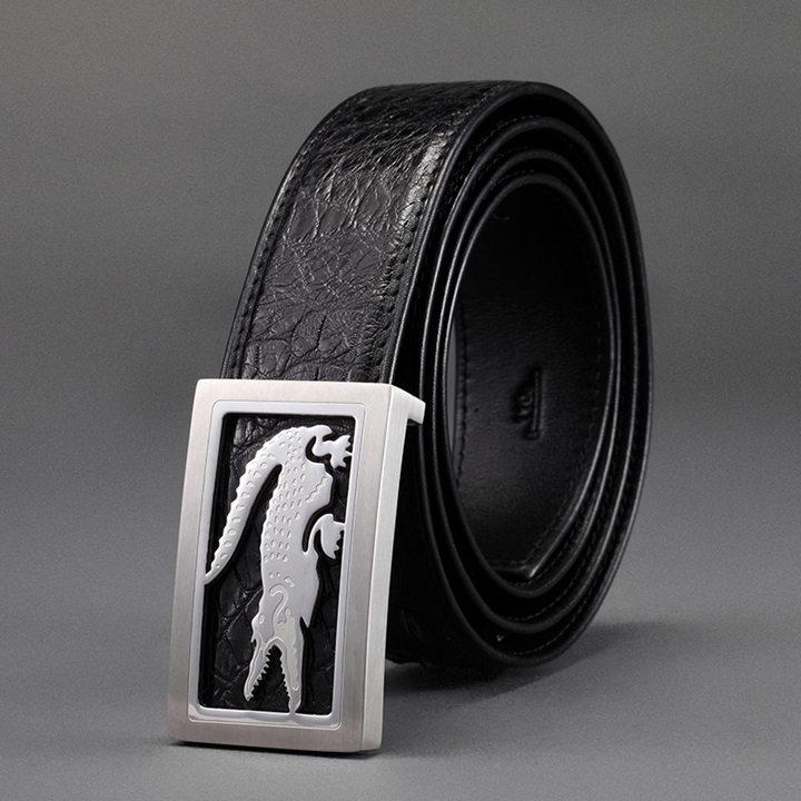 Crocodile Leather Belt-ART.NO 0002