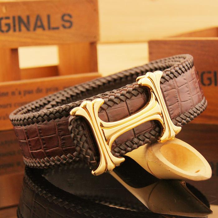 Crocodile Leather Belt Art.No 0013