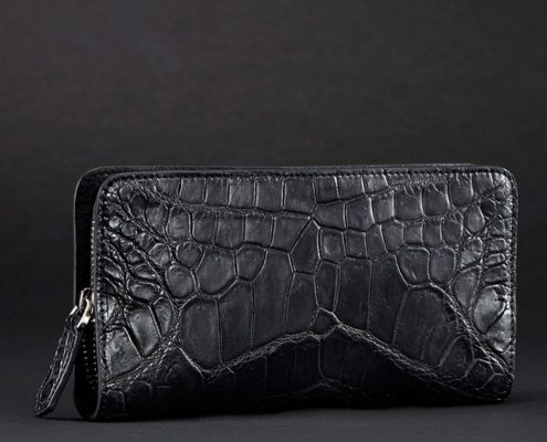 Crocodile Leather Wallet Art.No 0010