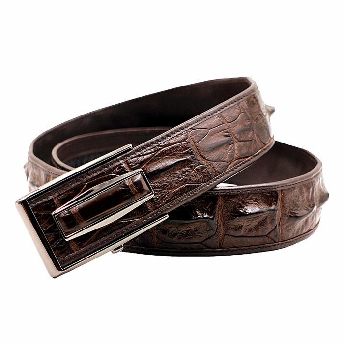 Crocodile belt suitable for men wear