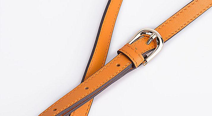 Designer Sturgeon Leather Handbag Crossbody Bag Evening Bag-Strap